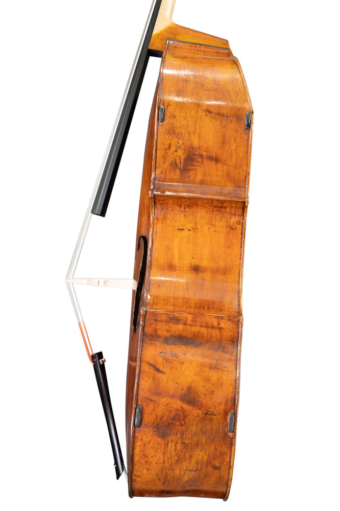 The Ex-David James Double Bass by William Howarth, Manchester circa 1890
