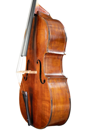 English Double Bass by Ernest Francis Lant, Sevenoaks No 470 anno 1979