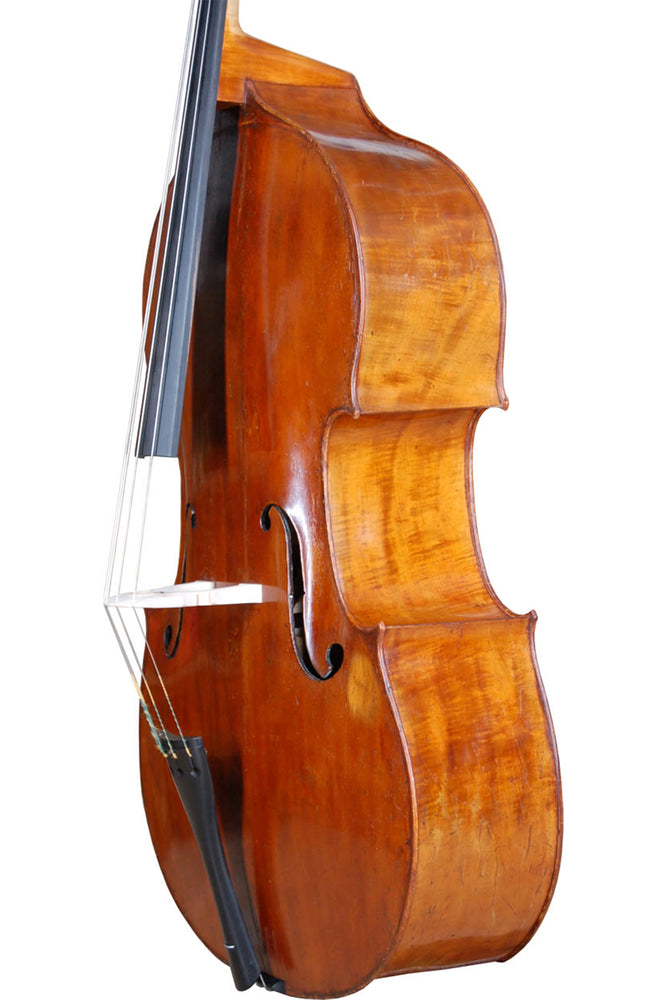 French Double Bass by Paul Claudot, Mirecourt circa 1850