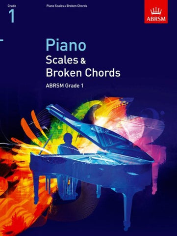 Piano Scales & Broken Chords, ABRSM Grade 1