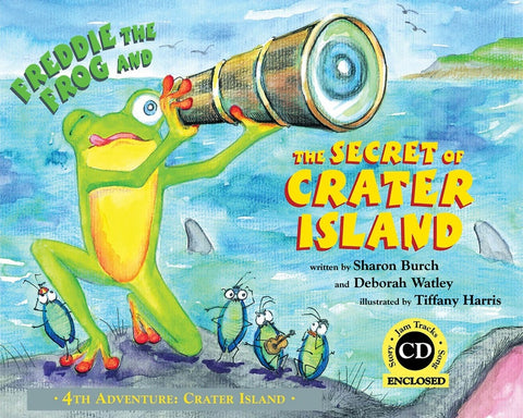 Freddie the Frog and the Secret of Crater Island