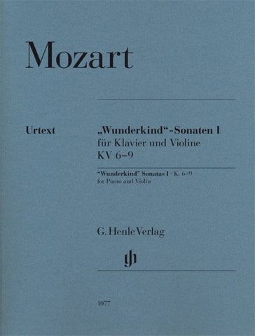 'Wunderkind' Sonatas I, K.6-9 for Piano and Violin
