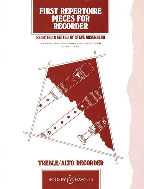 First Repertoire Pieces for Treble Recorder