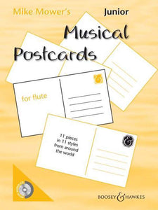 Junior Musical Postcards for Flute
