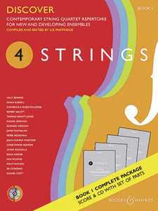 4 Strings - Discover Book 1 Score/Parts/CD
