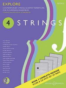 4 Strings - Explore Book 2 Score/Parts/CD