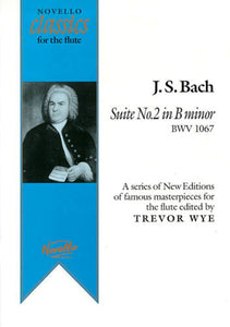 Bach Suite 2 In B Minor Flute/Pno Ed.Wye