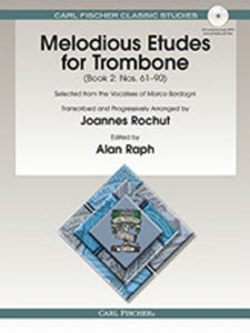 Melodious Etudes for Trombone - Book 2, Nos. 61-90