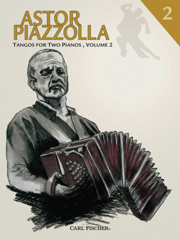 Astor Piazzolla Tangos For Two Pianos Bk 2 2P 4H