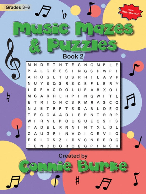 Music Mazes And Puzzles Bk 2