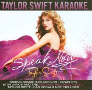 Sing The Hits Taylor Swift Speak Now Cdg