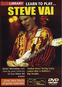 Learn To Play Steve Vai Vol1 Dvd