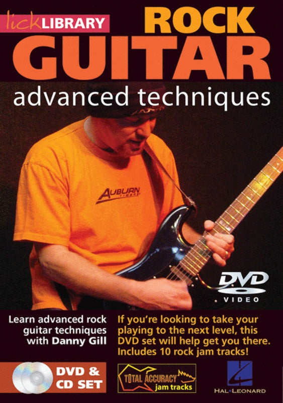 Advanced Rock Guitar Dvd/Cd