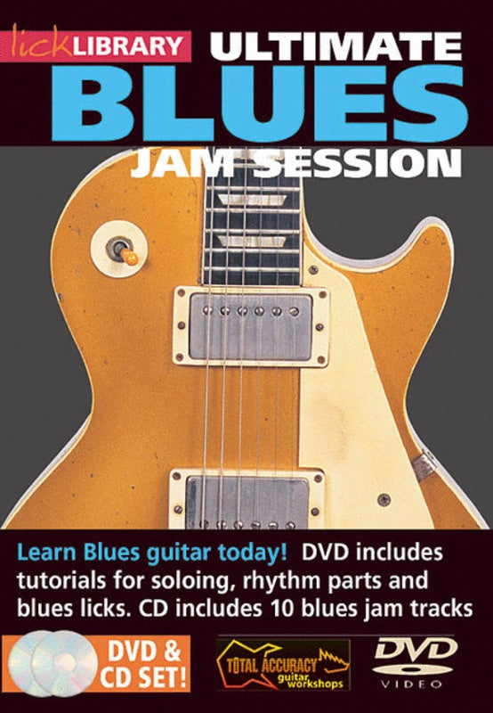 Ultimate Blues Jam Session Vol1 Cd/Dvd
