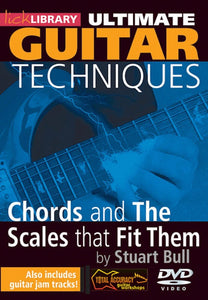 Ultimate Gtr Tech.Chords And Scales 2Dvds