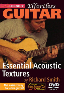 Effortless Guitar Ess Ac Textures Dvd