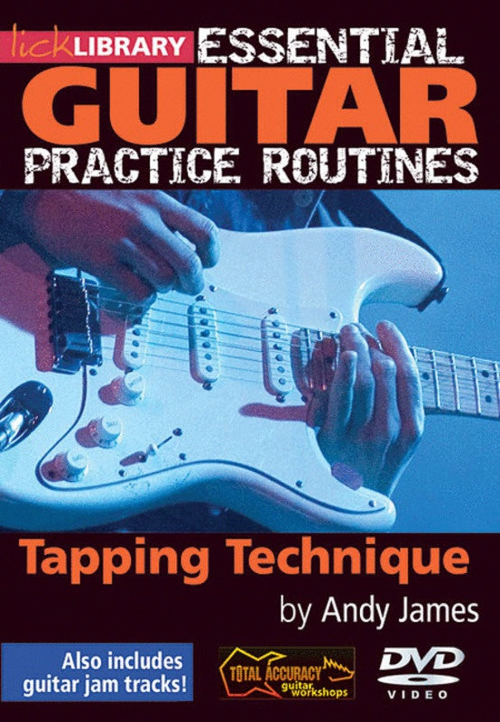 Essential Gtr Practice Tapping Tech. Dvd