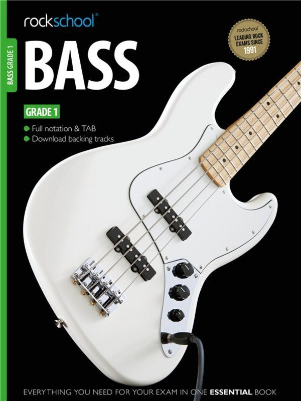 Rockschool Bass Grade 1 2012-2018