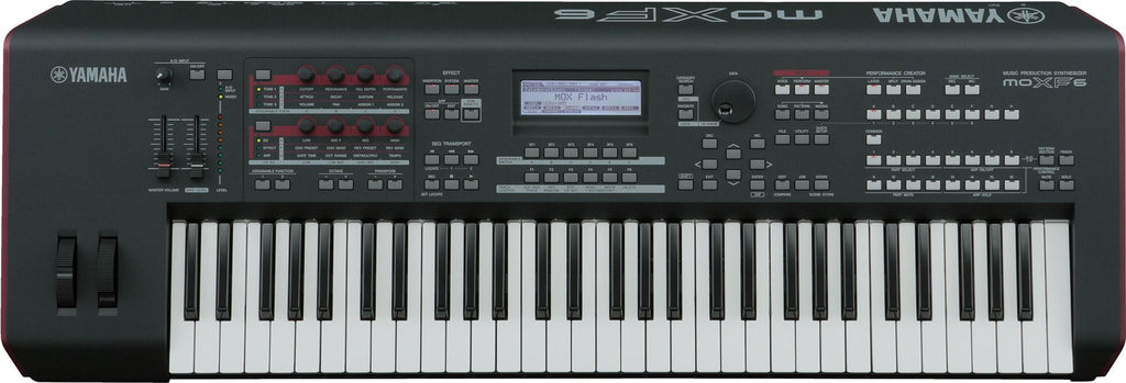 Sintetizador Workstation Yamaha MOXF6 Control Daw Interfaz 61 Teclas-Workstation-YMUSIC LIFE