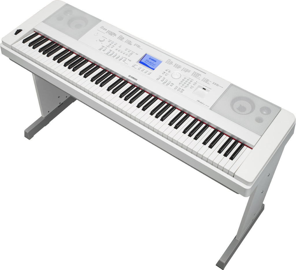 Piano Digital Electrico Yamaha DGX660W 88 Teclas Blanco con Mueble-YAMAHA-YMUSIC LIFE