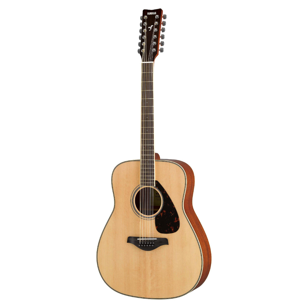 Guitarra Acustica Yamaha Folk FG820-12 de 12 Cuerdas color Natural-YAMAHA-YMUSIC LIFE