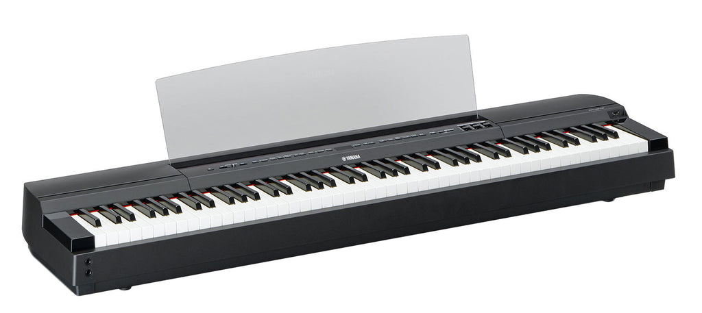 Piano Digital Yamaha Modelo P255B de 88 Teclas de Accion Martillo-Pianos Digitales-YMUSIC LIFE