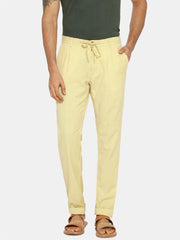 Butter yellow natural dye trouser