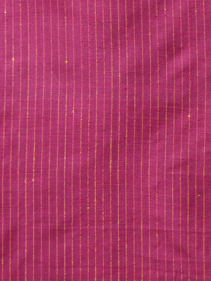 Olive Brown Handloom Tussar Silk Saree