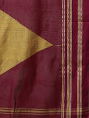 Olive ilkal handloom cotton saree