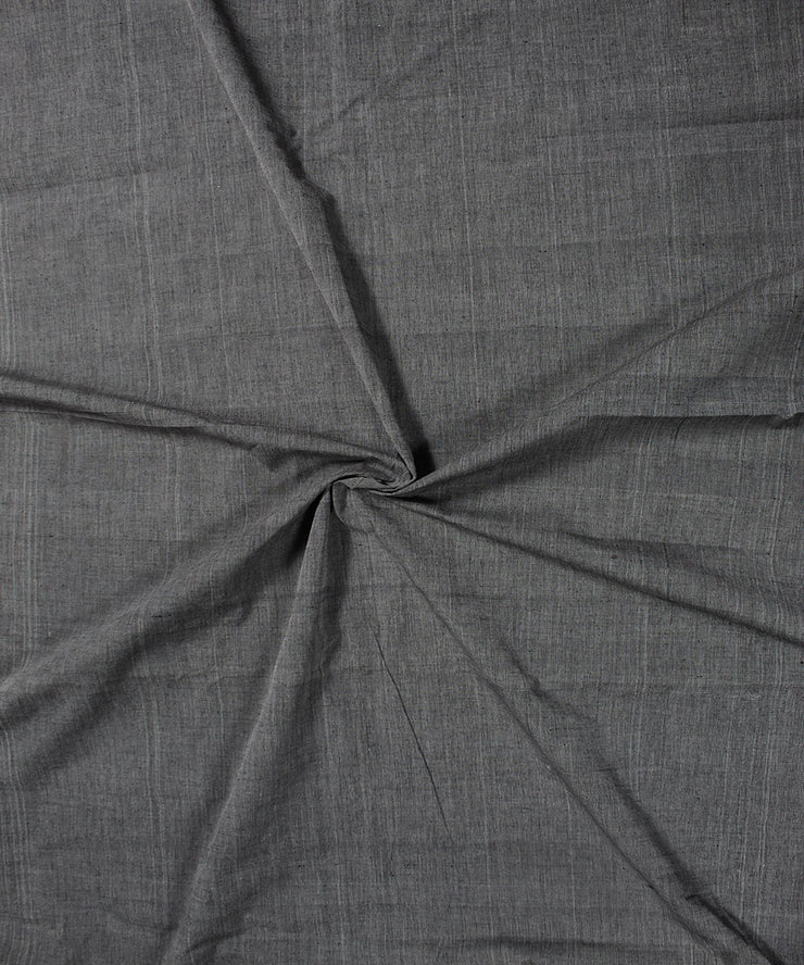 Handloom Cotton Grey Fabric