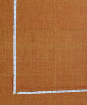 Rust Handloom Cotton Fabric