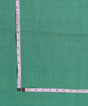 Aqua blue Handloom Cotton Fabric