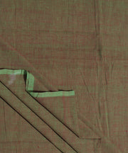 Brown aquaHandloom Cotton Fabric