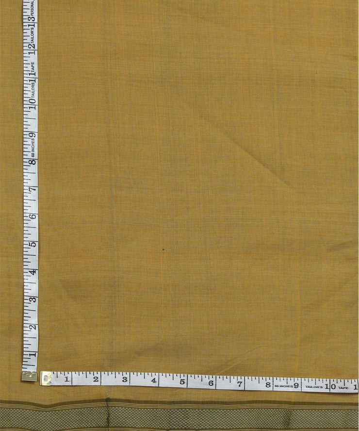 light brown handloom cotton fabric