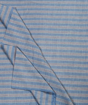 blue grey handloom handspun cotton fabric