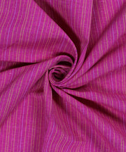 purple handloom handspun cotton fabric