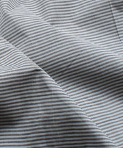 mangalagiri grey stripe handloom fabric