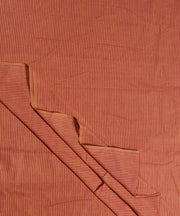 rust mustard stripe handwoven cotton fabric
