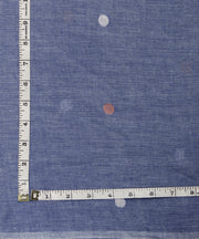 lavender jamdani handloom cotton fabric