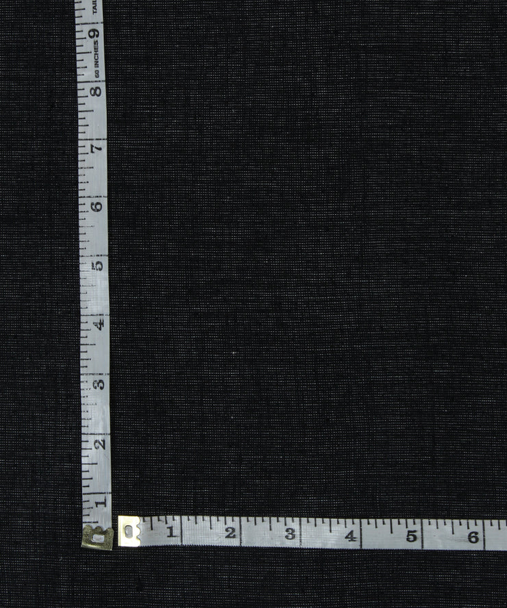 dark grey black handloom cotton fabric
