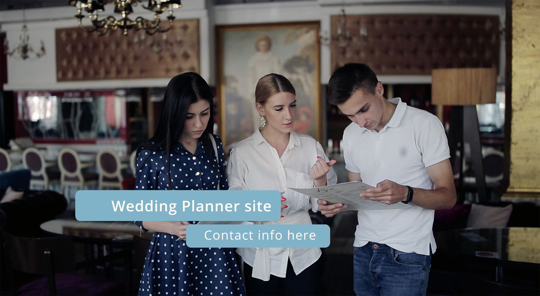 Wedding Planner or Services Ad Sample 2