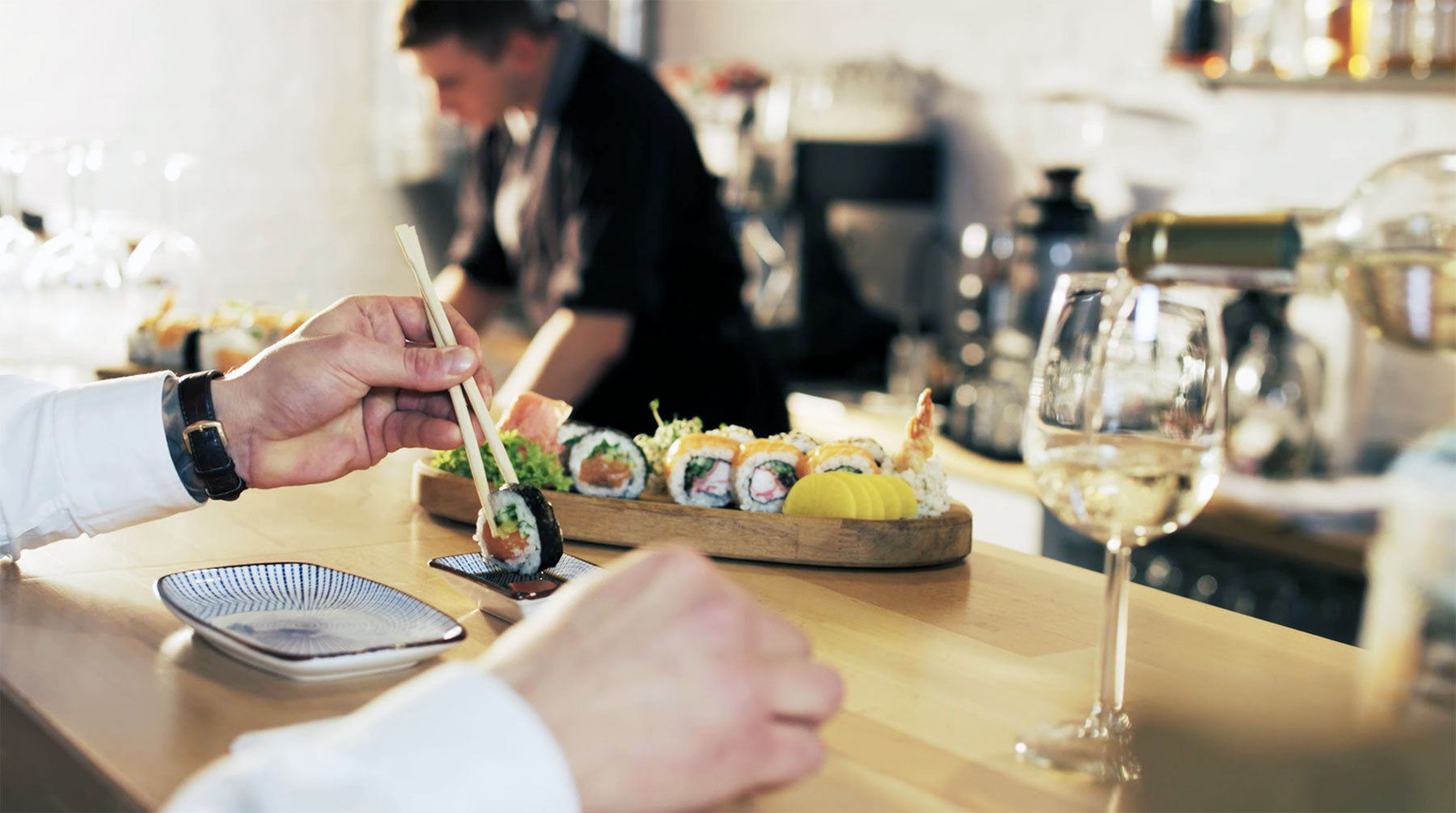 Sushi Bar Sample Ad 2