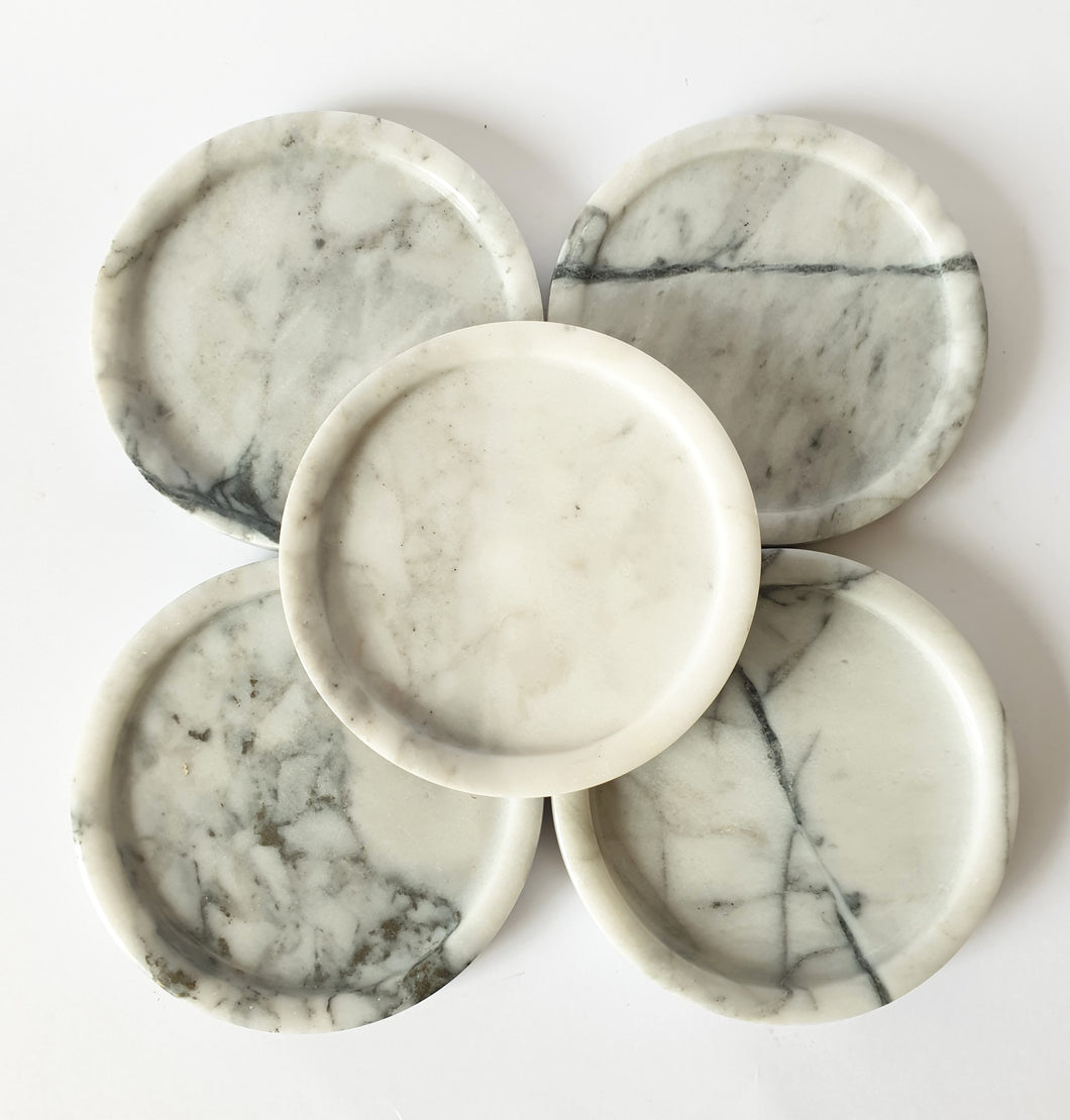 Marble Plate (White)