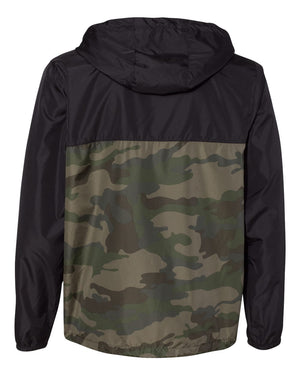 LC Water-Resistant Windbreaker Camo/Black