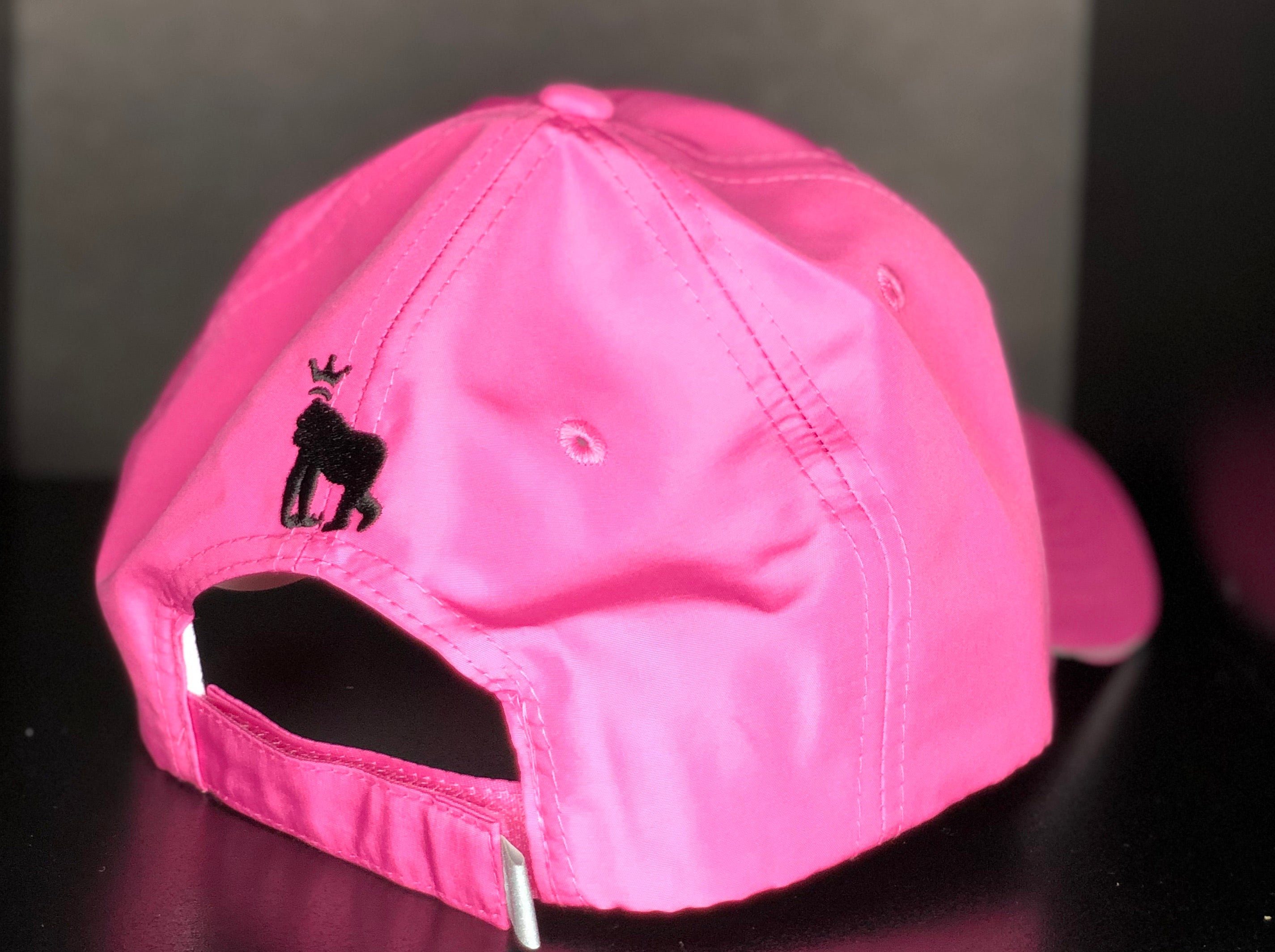 Unisex Performance Pitch Cap- Charity Pink/ Black