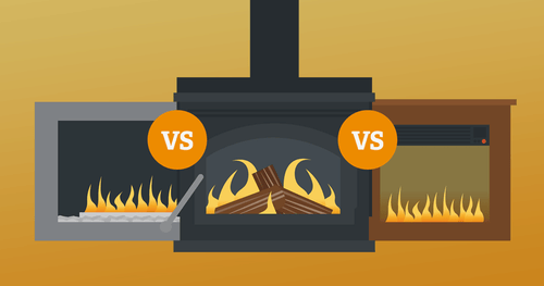 Gas vs Electric Fireplace. Which is one right for you?