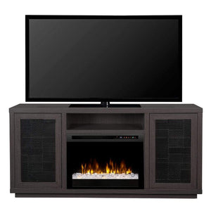 "Dimplex Swayze 65"" Media Console with 25/26"" Electric Firebox - US Fireplace Store"