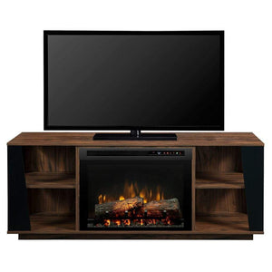 "Dimplex Arlo 60"" Media Console with 25/26"" Electric Firebox - US Fireplace Store"