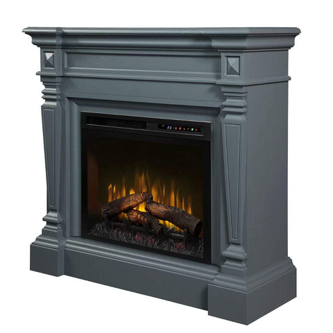 "Dimplex Heather 50"" Mantel with 26/28"" Electric Firebox - US Fireplace Store"