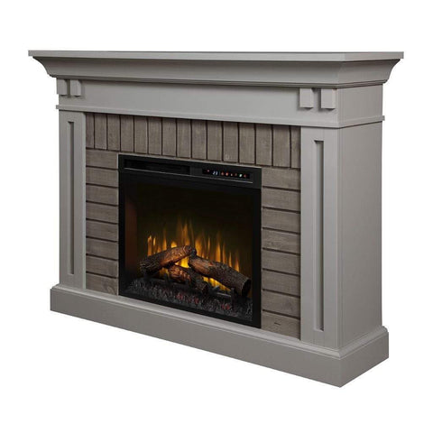 "Dimplex Madison 58"" Mantel with 26/28"" Electric Firebox - US Fireplace Store"
